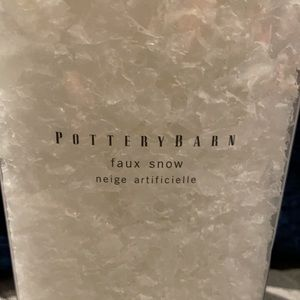 Faux Snow from Pottery Barn